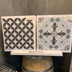 Carrelage scandinave carreaux ciment revoir Paris