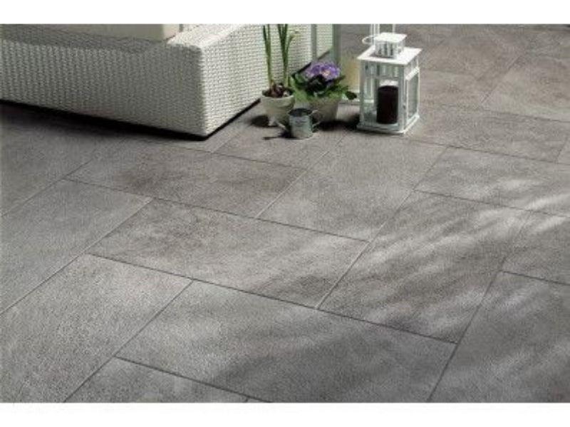 Carrelage imitation pierre pour votre terrasse - Carrelages Grilli